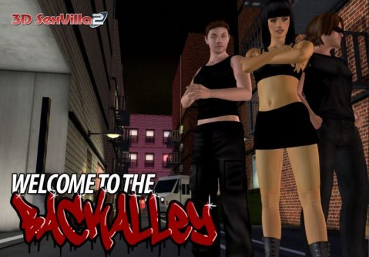Public pervert sex in 3D SexVilla game