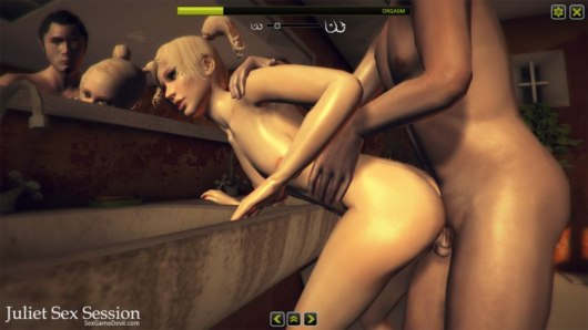 blonde game sex