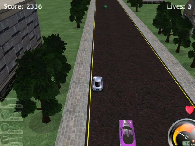 Game Highway Pursuit 1