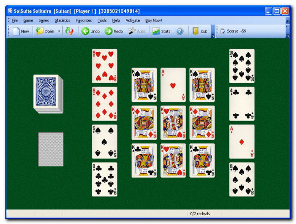 Game SolSuite Solitaire 1