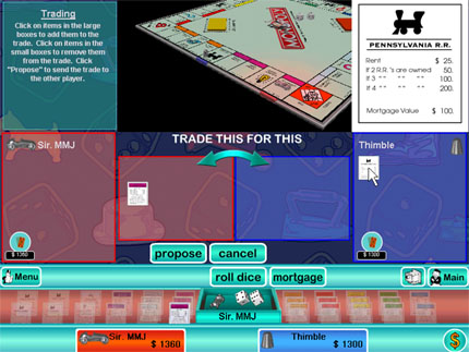 Game Monopoly 3