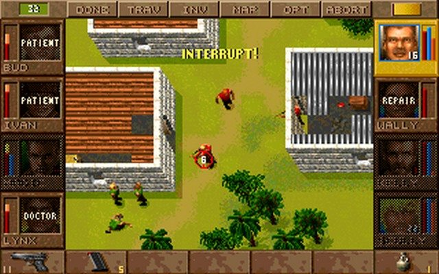 Game Jagged Alliance 1