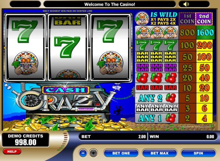 Game Cash Crazy 1