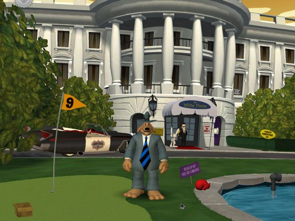 Game Sam & Max - Abe Lincoln Must Die 3
