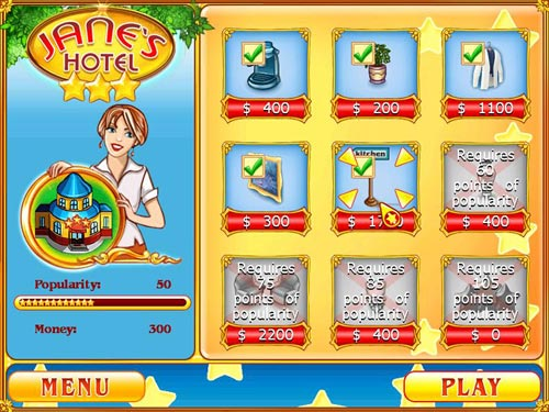 Game Jane's Hotel 4
