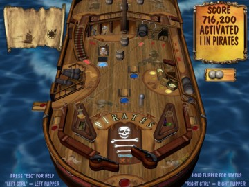 Game Pirates of the Caribbean Pinball 3