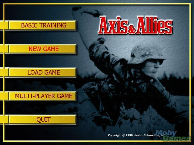 Game Axis & Allies 4