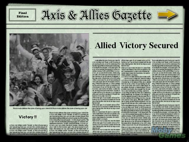 Game Axis & Allies 1