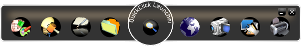 Program QuickClick Launcher 1