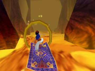 Game Aladdin Magic Carpet Racing 2