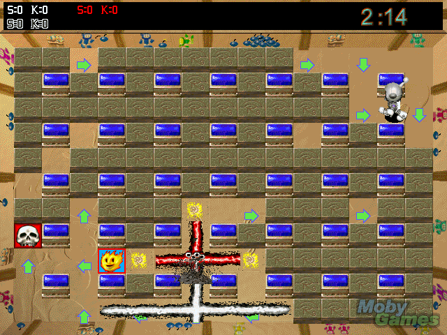 Game Atomic Bomberman 1