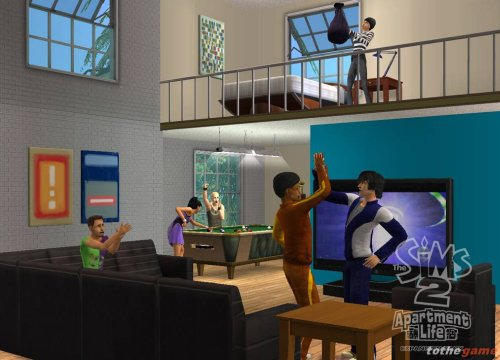 Game The Sims 2: Apartment life 2