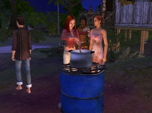 Game The Sims 2: Stories from the uninhabited island 4