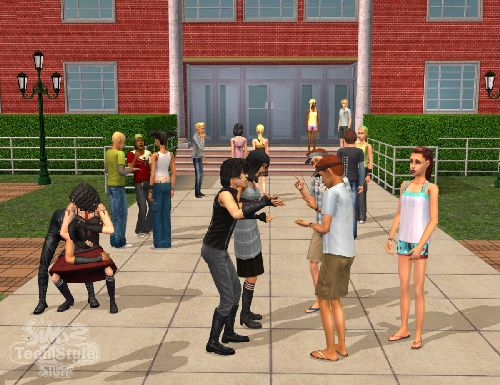Game The Sims 2: Youth Style 4