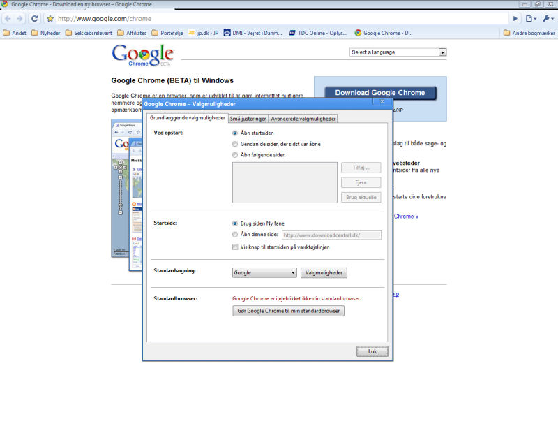 Program Google Chrome 2