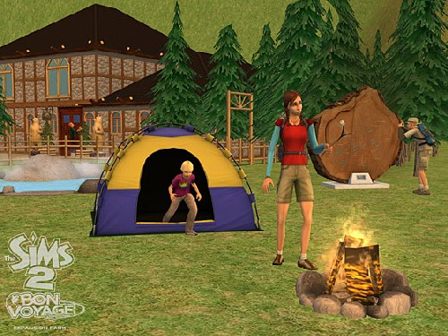 Game The Sims 2: Travel 3