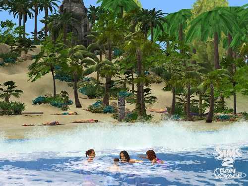 Game The Sims 2: Travel 2