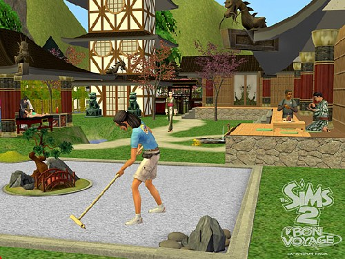 Game The Sims 2: Travel 1