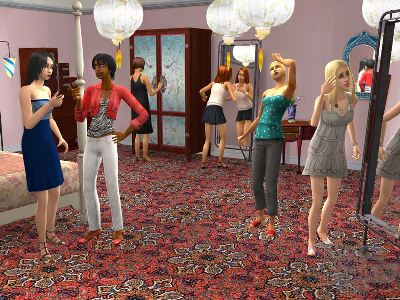 Game The Sims 2: Accessories Fashion with H&M 4