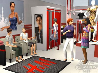 Game The Sims 2: Accessories Fashion with H&M 3
