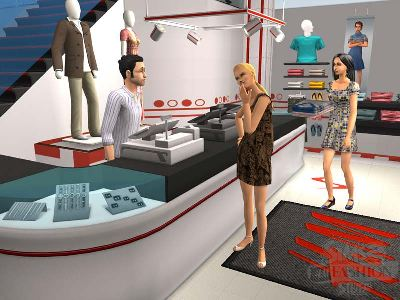 Game The Sims 2: Accessories Fashion with H&M 2