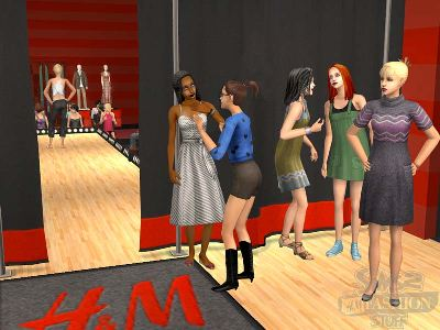 Game The Sims 2: Accessories Fashion with H&M 1