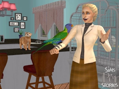 Game The Sims 2: Stories from the world of Animals 4