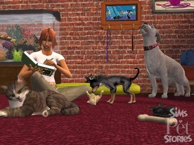 Game The Sims 2: Stories from the world of Animals 3