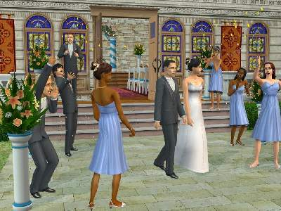 Game The Sims 2: Party 3