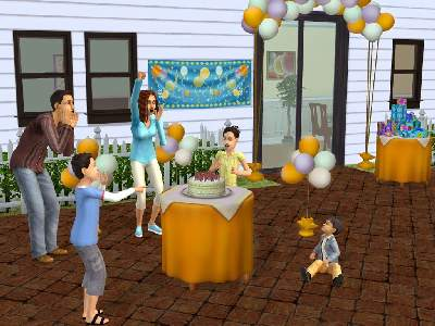 Game The Sims 2: Party 2