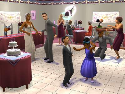Game The Sims 2: Party 1