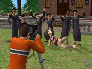 Game The Sims 2: University 3