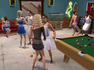 Game The Sims 2: University 2
