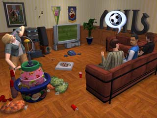 Game The Sims 2: University 1