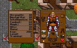 Game Ultima 7 Part 1 - The Black Gate 3