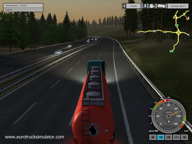 Game  Euro Truck Simulator 3