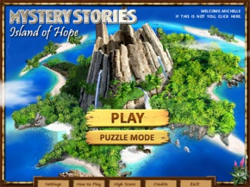 Game Mystery Stories: Island of Hope 1