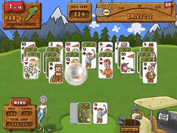Game Fairway Solitaire 2