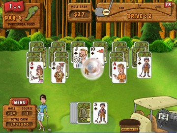 Game Fairway Solitaire 1
