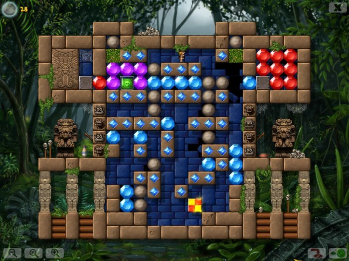 Game Crystal Cave Lost Treasures 3