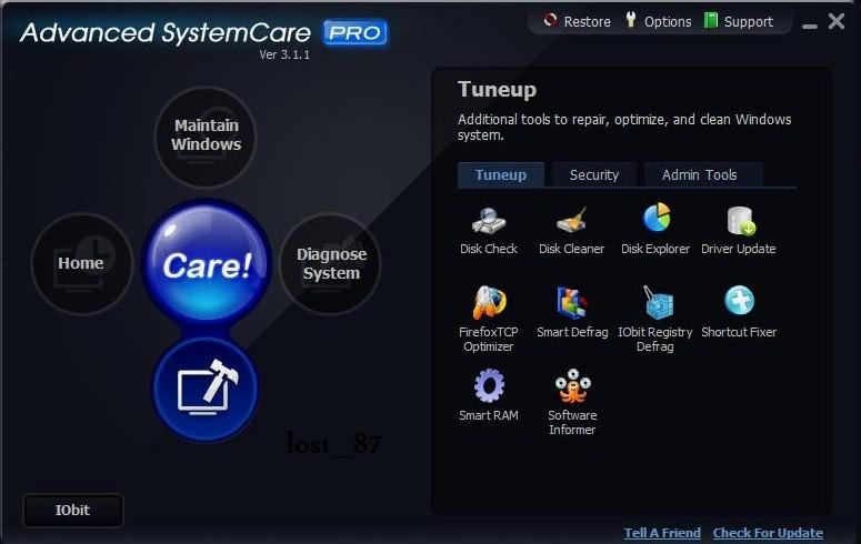 Program Advanced System Care 1