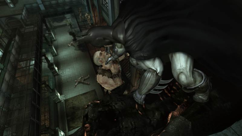 Game Batman: Arkham Asylum 4