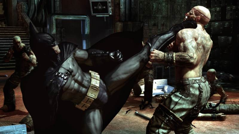 Game Batman: Arkham Asylum 3