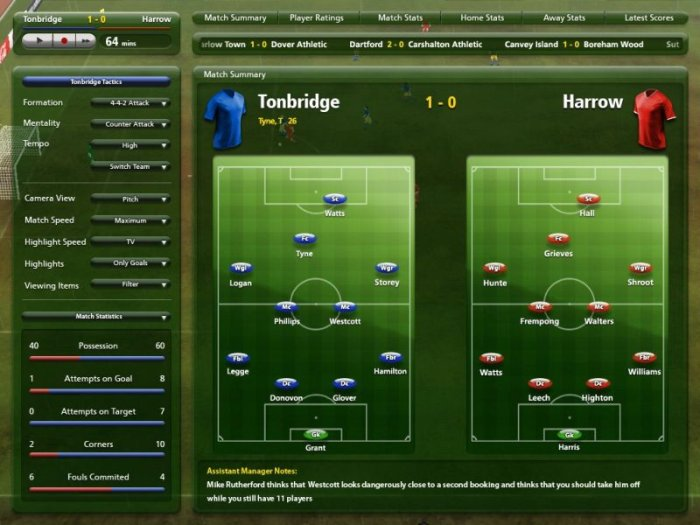 Game Championship Manager 10 3