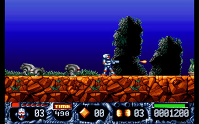 Game Turrican II - The Final Fight 4