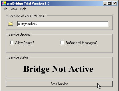 Program emlBridge 1