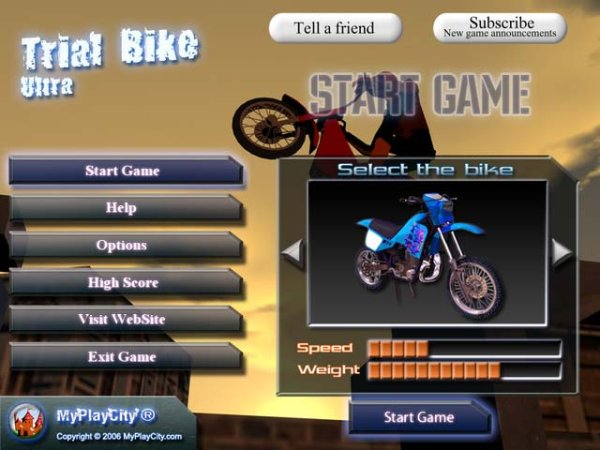 Game Trial Bike Ultra 3