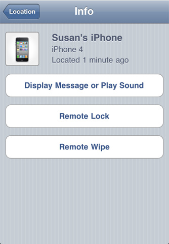 Program Find My iPhone 2