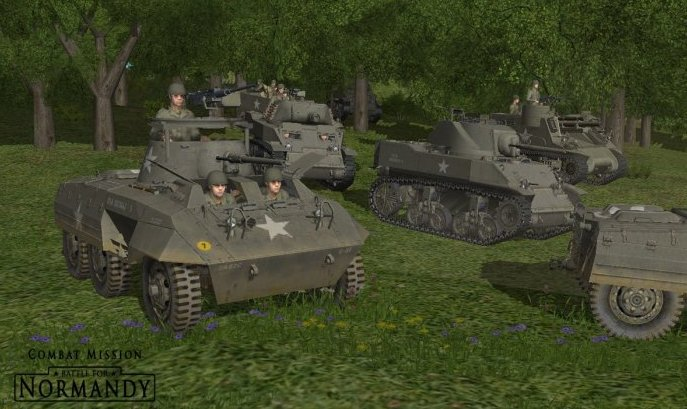 Game Combat Mission: Battle for Normandy 1