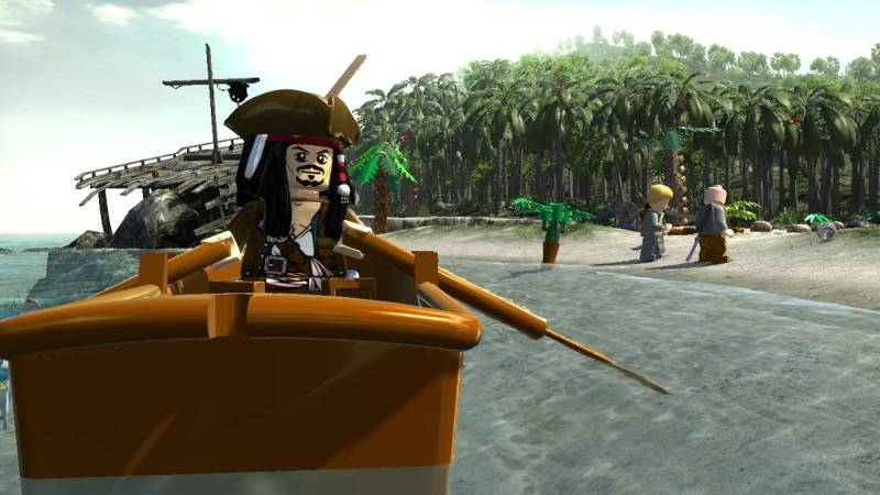 Game LEGO Pirates of the Caribbean 3